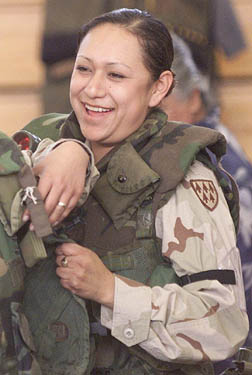 Private Lori Piestewa became the first Native American woman to die in combat on foreign soil.