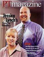 Jessica Lynch on the cover of PTmagazine.