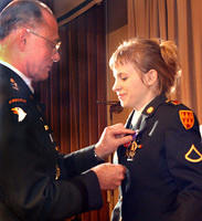 Jessica Lynch goes home with Bronze Star